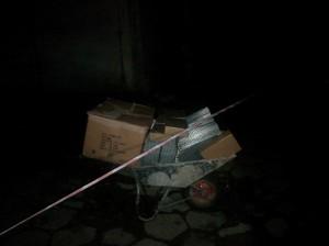Nocne manewry z taczką