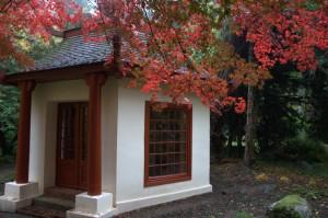 Jesień w ogrodzie japońskim