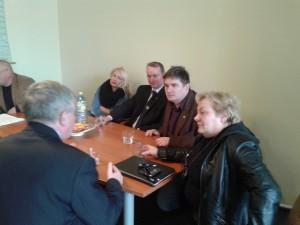spotkanie z posłami
