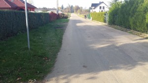 Brak chodników lub ich zły stan to jedna z najpilniejszych spraw do załatwienia.